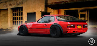 porsche outlaw porsche 924 urban outlaw u203a autemo com u203a automotive design studio