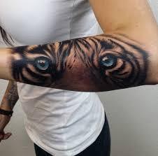blue tiger portrait best design ideas