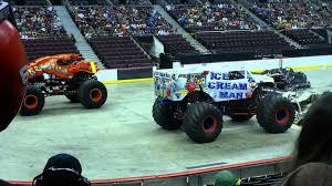 monster truck show ottawa monster truck crushstation vs ice cream man sprint race ottawa 2012