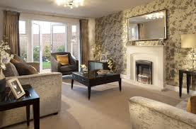 interior designed living room using a neutral colour scheme of