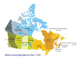 minimum wage by province retail council of canada