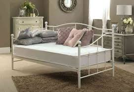 white metal daybed frame canada white iron daybed frame white