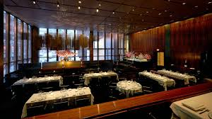 Nyc Restaurants With Private Dining Rooms An Early Look At The Grill In The Former Four Seasons Space The