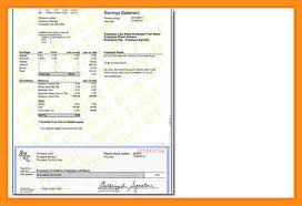 5 modern pay stub template resume setups