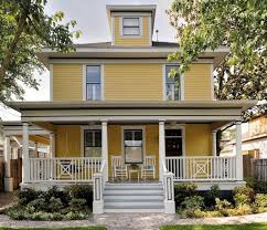 spring front exterior house color