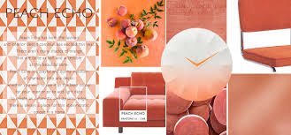shades or orange peach echo spring summer weekly colour report roman blinds blog