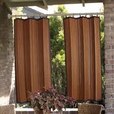 sheer outdoor curtainanels cool luxury tab top dooranel creative