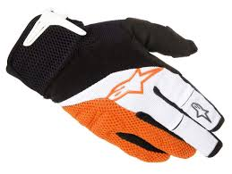 alpinestar motocross gloves alpinestars moab glove gloves bike white orange wofddm5lug