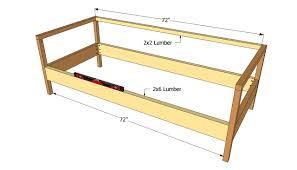 Diy Outdoor Sectional Sofa Plans Wood Sofa Plans Okaycreations Net