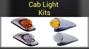 peterbilt 379 cab marker lights truck cab lights big rig chrome shop semi truck chrome shop truck