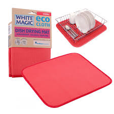 magic eco cloth dish drying mat coral for nz 19 60