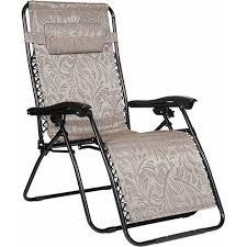 camco 51832 large zero gravity chair tan walmart com