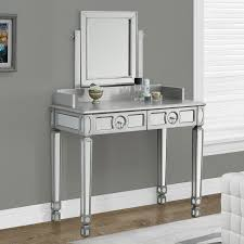 Mirrored Bedroom Furniture Tips Modern Mirrored Makeup Vanity For The Beauty Room Ideas