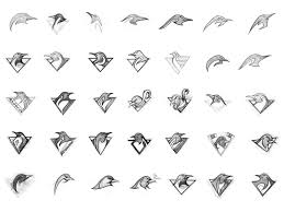 20 inspiring logo sketches sketches logos and logo development