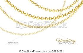 golden fashion necklace images Gold chain necklace luxury jewelry background wedding invitation jpg