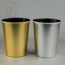 Gold Plastic Flower Vases Plastic Vases Wholesale Flowers And Supplies