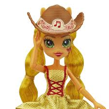 applejack hairstyles my little pony equestria girls rainbow rocks applejack rockin