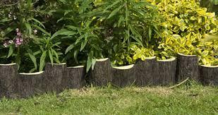 wood garden edging gardening guide
