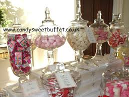 wedding candy buffet table to impress wedding entertainment