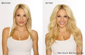 clip in hair extensions before and after hair voted best hair extensions viva glam magazine