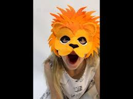 lion mask diy how to make a lion mask for kids