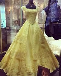 Halloween Costume Belle P110 Cosplay Beauty Beast Princess Belle Costume Tailor