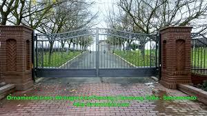 iron entry gates usa ornamental wrought iron railings california