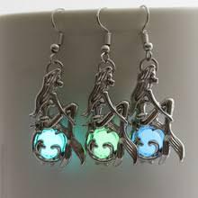 mermaid earrings buy mermaid earrings and get free shipping on aliexpress