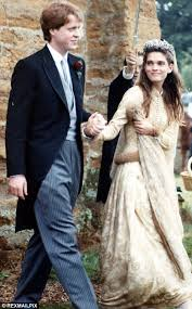 karen spencer countess spencer earl spencer marries for the third time in a small ceremony at