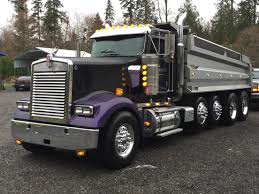 kenworth w900l 2007 dump truck if l f dana trucking carried on
