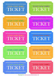 avery tickets template 25 unique ticket template ideas on ticket