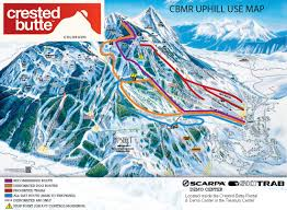 Big Sky Trail Map Trail Maps Crested Butte Mountain Resort