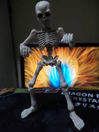 posable halloween skeleton rement pose skeleton 03 big review fun time adeno u0027s fun time