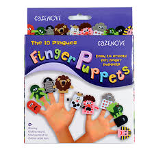 passover plague toys the 10 plagues passover felt finger puppets kit