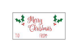 download printable gift tags page sheet stickers labels 2x4 holly