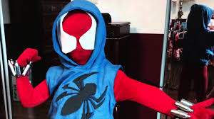 how to make a scarlet spider costume youtube