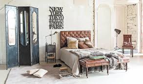 Vintage Bedroom Decor by Free Spacious Industrial Bedroom Design Ideas With White Brick