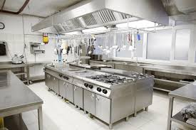 image result for commercial kitchen industrial chic rustic