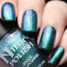 ninja polish alexandrite from the facets collection