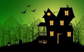 scary house wallpaper download