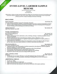sample entry level resume resume samples and resume help