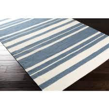 White Cotton Rug Blue Area Rugs Woven Cotton Jute U0026 Synthetic Pvc