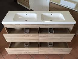 bathroom cabinets floor standing timber wood grain bathroom