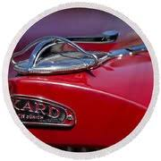 1937 packard 115 c cabriolet ornament photograph by reger