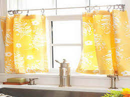 Modern Curtains For Kitchen by Curtain Ideas For Yellow Kitchen Decorate The House With