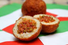 arancini boules de riz à la sicilienne la cuisine à quatre mains
