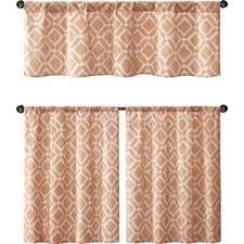 Geometric Orange Curtains Geometric Orange Valances U0026 Kitchen Curtains You U0027ll Love Wayfair