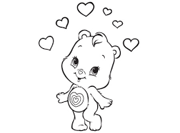 cute wonderheart bear care bears activity ag kidzone