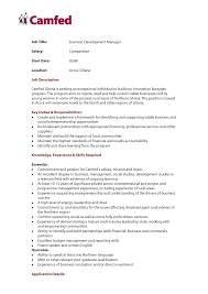 cv business development manager recommendation letter for business development manager gallery