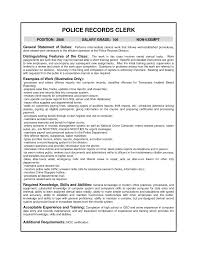 resume examples law enforcement resume objective law enforcement